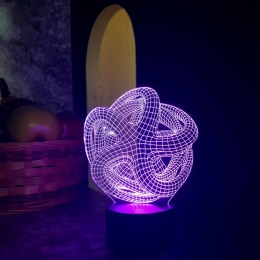 """3D светильник """"Звезда"""" 3DTOYSLAMP"""
